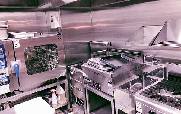 店舗、厨房設計・厨房メンテナンス