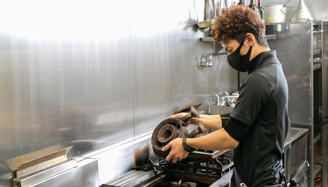 厨房設備事業部